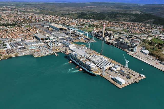 «Εκσυγχρονίζονται» τα ιταλικά ναυπηγεία Fincantieri