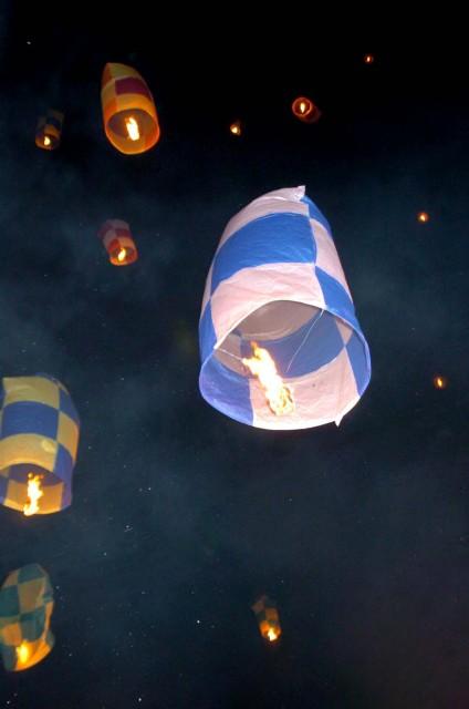 Tα πολύχρωμα αερόστατα του Λεωνιδίου