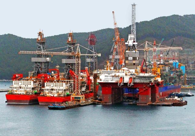 «Ένεση ρευστότητας» της Σεούλ στα νοτιοκορεάτικα ναυπηγεία