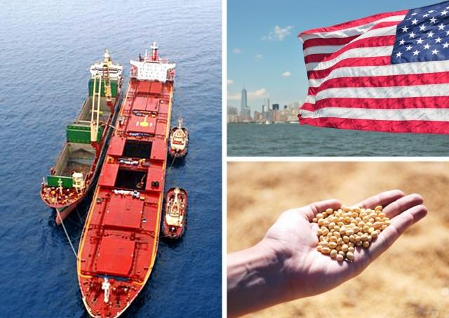 Σε κίνδυνο οι εξαγωγές αμερικανικής σόγιας