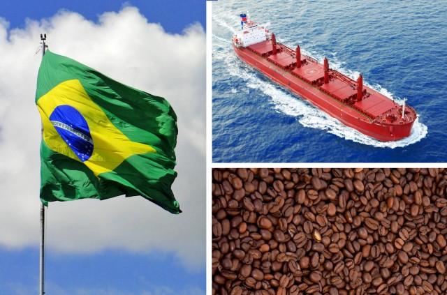Βραζιλία: Με αμείωτο ρυθμό οι εξαγωγές καφέ