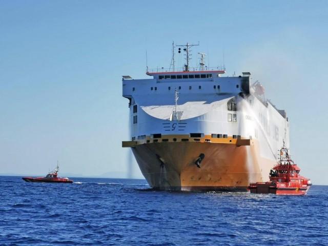 Μαγιόρκα: Πυρκαγιά ξέσπασε σε πλοίο