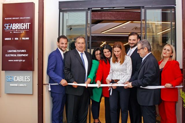 Η SeaBright εγκαινιάζει τις νέες υπερσύγχρονες εγκαταστάσεις της στον Πειραιά