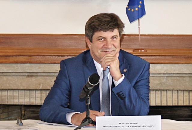 Γ. Ξηραδάκης: Ο Πειραιάς έχει ένα παγκόσμιο ανταγωνιστικό πλεονέκτημα