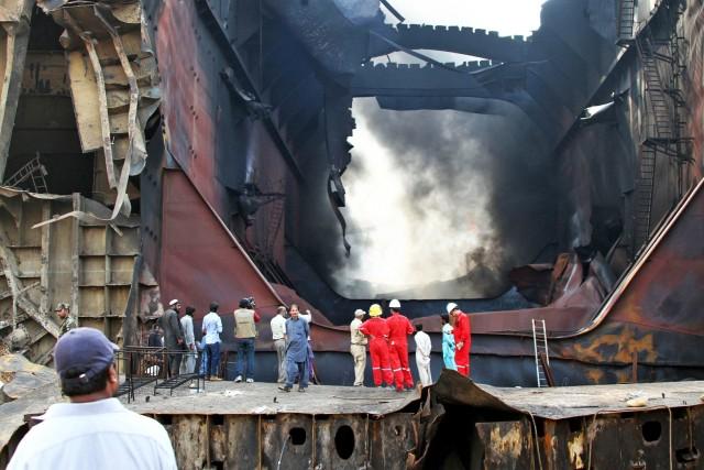 Ακόμα ένα εργατικό δυστύχημα σε διαλυτήριο πλοίων του Μπανγκλαντές