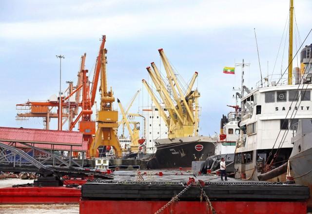 Αύξηση του διά θαλάσσης εμπορίου για τη Μιανμάρ