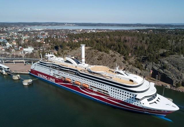 Rotor Sail: Σημαντική εξοικονόμηση καυσίμων στο κρουαζιερόπλοιο Viking Grace