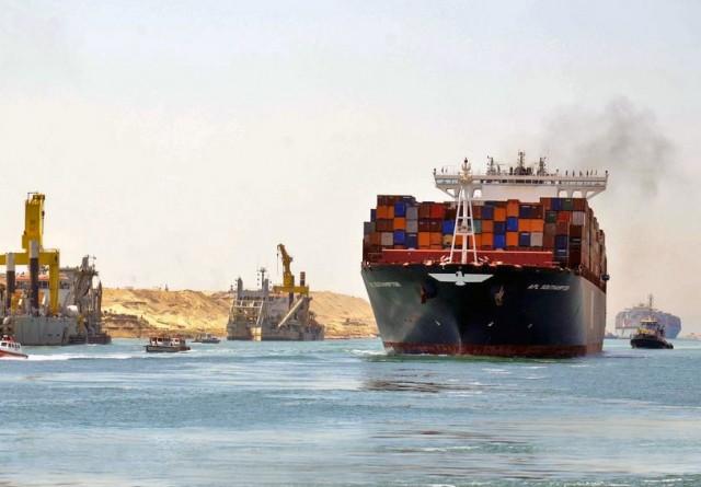 Διώρυγα του Σουέζ: Ιστορικό ρεκόρ διέλευσης πλοίων