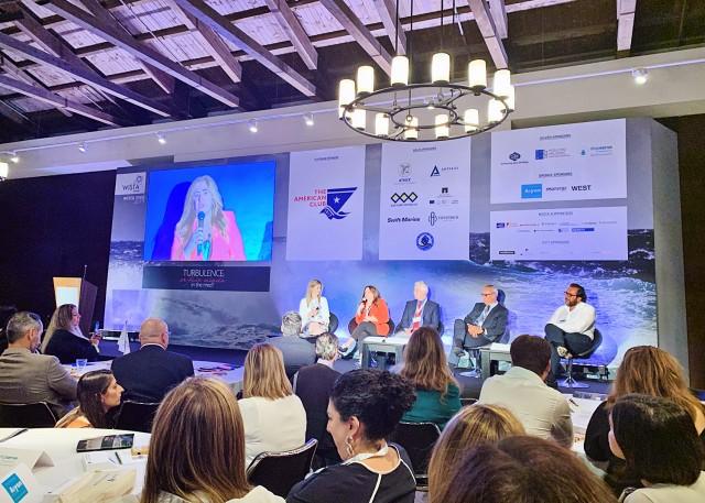 WISTA: Όσα συζητούν οι πρωταγωνίστριες της ναυτιλίας στη Μεσόγειο