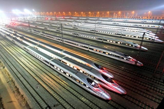 Κίνα: Ο «γίγαντας» του σιδηροδρόμου