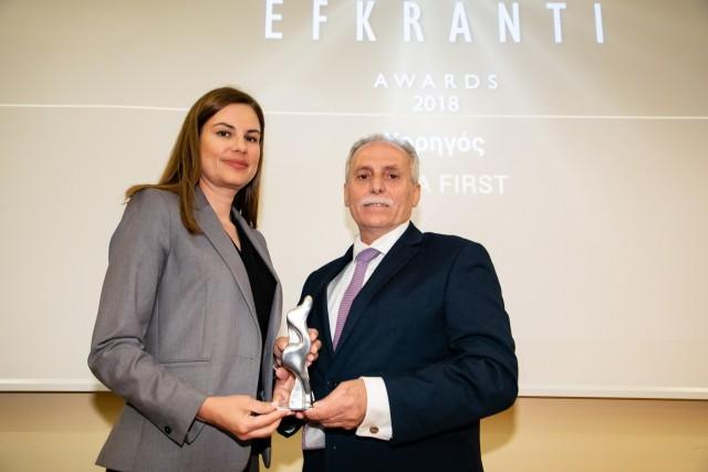 Ο καπτ. Κώστας Κ. Κανελλόπουλος βραβεύεται ως Καλύτερος Μάνατζερ