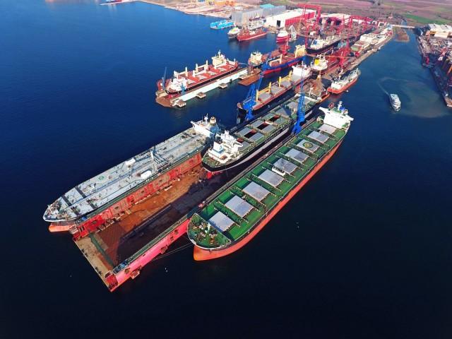 Περιήγηση στα ναυπηγεία της Τουρκίας