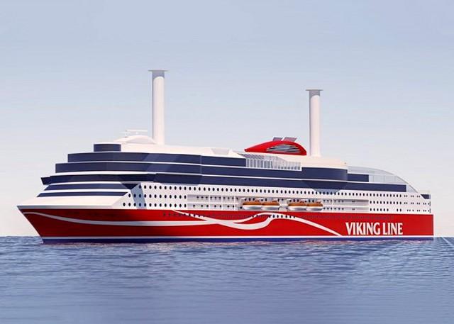 Το νέο φιλικό προς το περιβάλλον πλοίο της Viking Line