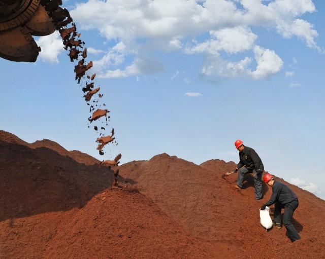 Κίνα: Αύξηση των εισαγωγών σιδηρομεταλλεύματος τον Μάιο