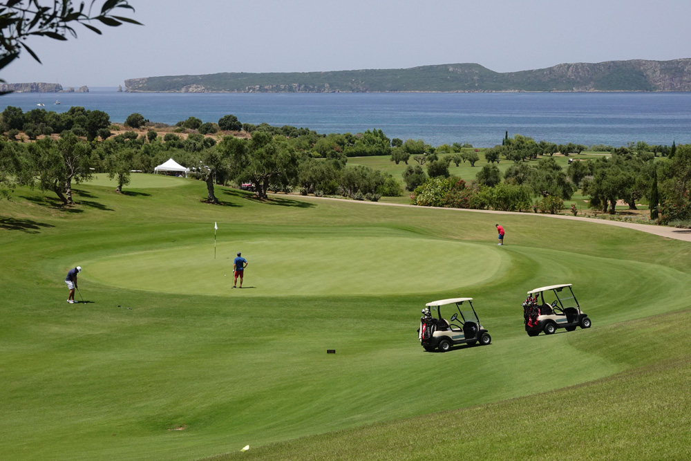 Greek Maritime Golf Event.