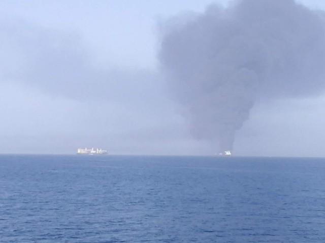Επίθεση σε δύο τάνκερ στον Κόλπο του Ομάν