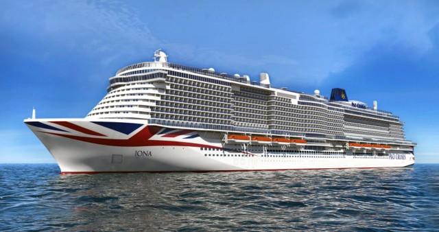 Νέο υπερσύγχρονο πλοίο για την P&O Cruises