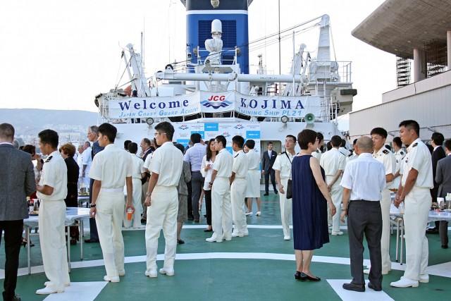 «Άρωμα» Ιαπωνίας στο λιμάνι του Πειραιά