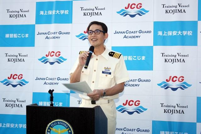 O πλοίαρχος του «Kojima», Hironobu Tonozaki