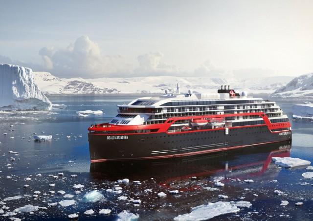 Το νέο υβριδικό κρουαζιερόπλοιο της Hurtigruten