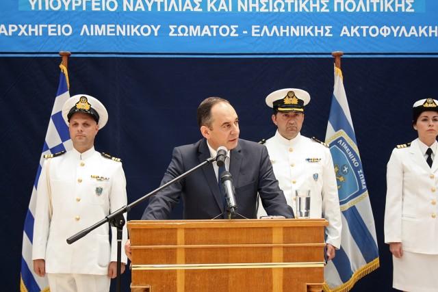 Ο νέος υπουργός Ναυτιλίας και Νησιωτικής Πολιτικής κ. Γιάννης Πλακιωτάκης