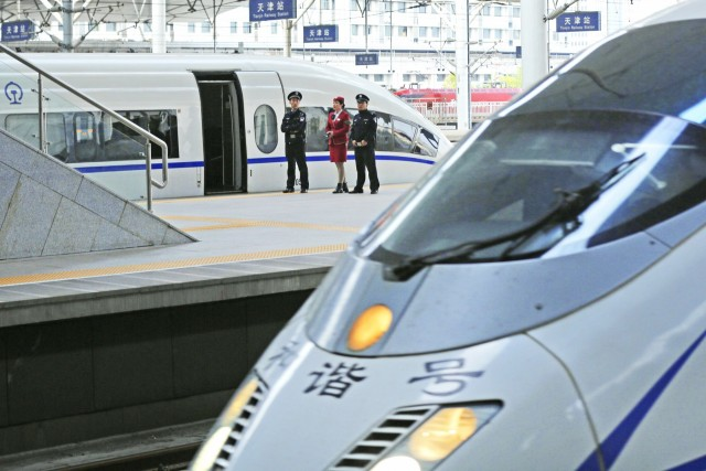 Κινεζικό «θαύμα» στους σιδηροδρόμους
