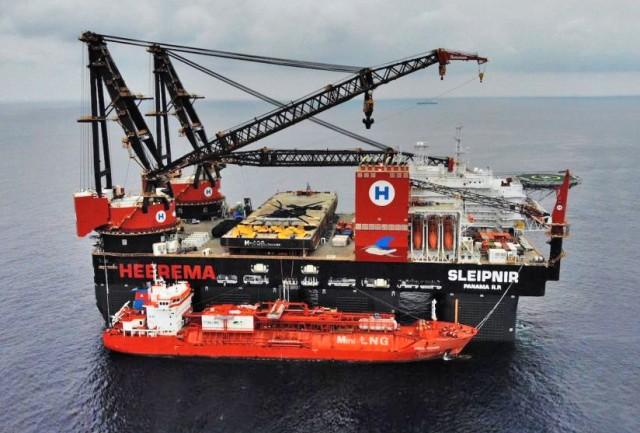 Νέο ρεκόρ για ship-to-ship ανεφοδιασμό