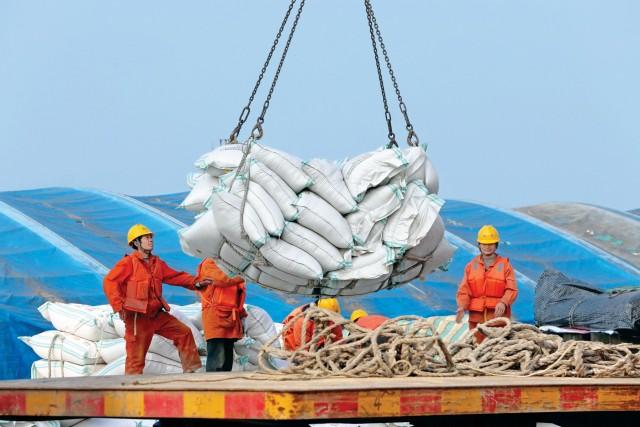 Κίνα: Μείωση για τις εισαγωγές σόγιας