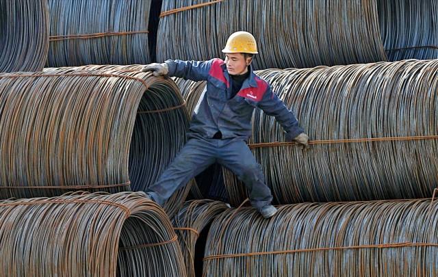 Κίνα: Δασμοί στις εισαγωγές χάλυβα