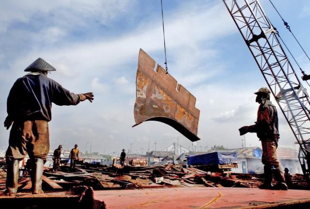 Στην κορυφή των ανακυκλώσεων πλοίων το Μπαγκλαντές