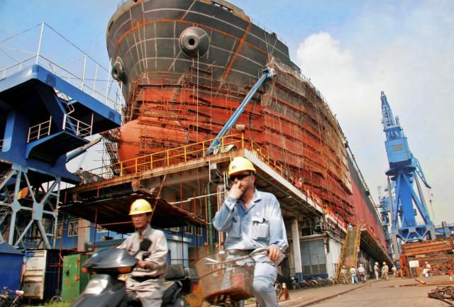 Στην Κίνα τα ηνία των ναυπηγήσεων πλοίων