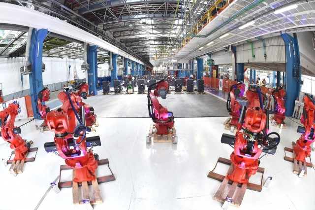 Ρομπότ στην υπηρεσία της βιομηχανίας