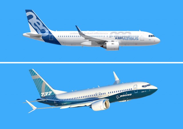 «Μάχη αιθέρων» για Airbus και Boeing