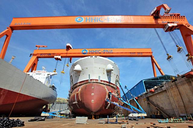 Ελπίδες αναγέννησης για το ναυπηγείο Hanjin
