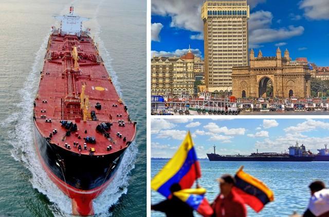 Οι ινδικές εισαγωγές αργού «φιλί ζωής» για την Βενεζουέλα