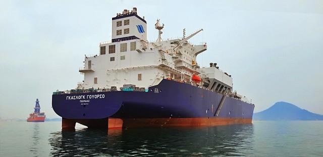 Ένα ακόμη πλοίο παρέλαβε ηGasLog