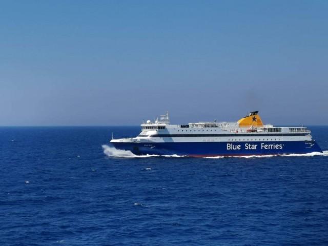 Μηχανική βλάβη στο Blue Star Naxos – Επιστρέφει στον Πειραιά