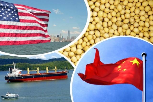 Κίνα: φρένο στις εισαγωγές αμερικανικών αγροτικών εμπορευμάτων