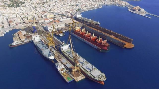 100 πλοία προτίμησαν το Νεώριο Σύρου (βίντεο)