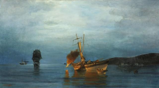 Κωνσταντίνος Βολανάκης: Έκθεση του μεγάλου θαλασσογράφου στο Μουσείο Ύδρας