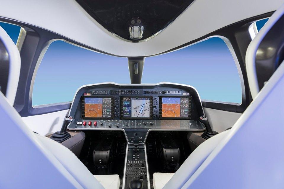 Το εσωτερικό του αεροσκάφος / Πηγή: Eviation Aircraft