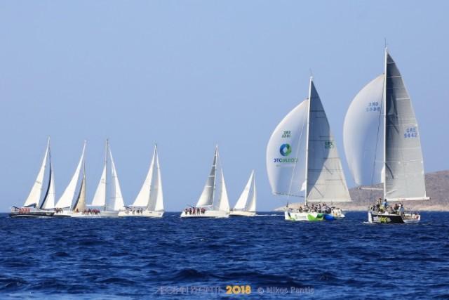 Τα Ψαρά υποδέχονται την Aegean Regatta