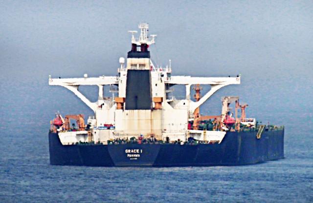 Grace 1: Το ιρανικό δεξαμενόπλοιο κατευθύνεται προς την Ελλάδα