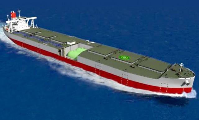 O DNV GL εγκρίνει το σχεδιασμό bulk carrier με καύσιμο LNG