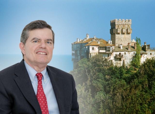 Αθ. Μαρτίνος: νέος Πολιτικός Διοικητής του Αγίου Όρους