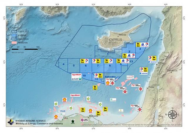 Kύπρος: το 2025 θα παράγει φυσικό αέριο