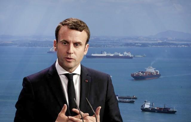 Μακρόν και γαλλικές ναυτιλιακές εταιρείες δεσμεύονται για slow steaming