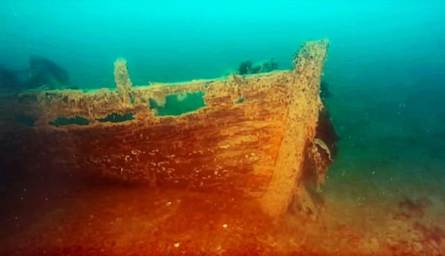 Άθικτο ναυάγιο 170 ετών