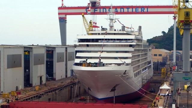 Νέο κρουαζιερόπλοιο για την Fincantieri