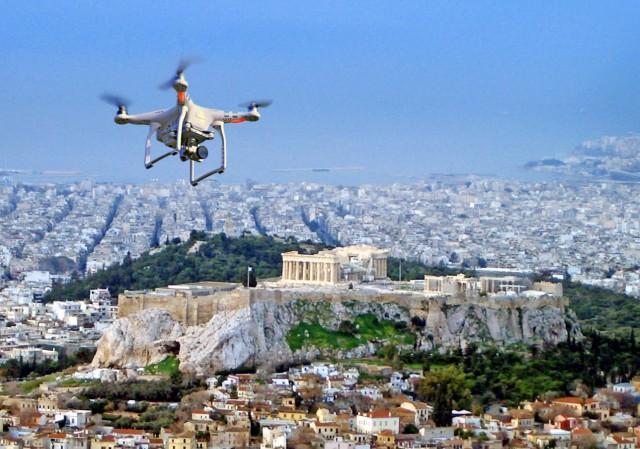 Το πρώτο ελληνικό drone